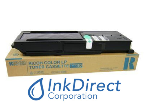 Genuine Ricoh 885328 Type 110 Toner Cartridge Cyan Toner Cartridge
