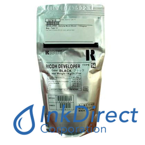 Genuine Ricoh 888010 - L 63-6299 - A2949640 Type 14 Developer / Starter Black
