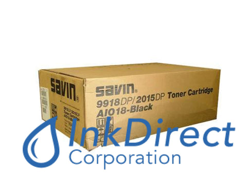 Genuine Savin 9845 410305 G755-15 Type Aio18 Toner Cartridge Black , Savin - Copier 9918, 9918DP, - Multi Function 2015DP