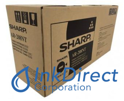 Genuine Sharp Ar208Nt Ar-208Nt Toner Cartridge Black