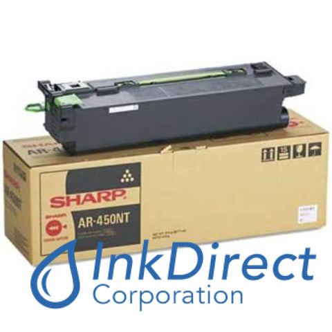 Genuine Sharp Ar450Nt Ar-450Nt Toner Cartridge Black Color Laser  AR-M 280N,  280N Plus,  280U,  280U Plus,  350,  AR-P  350,  450,   - Digital Copier AR-M  280,  300,  300N,  300U,  350,  450,