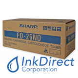 Genuine Sharp FO26ND FO-26ND Ton / Dev Black FO 2600 2700M Ton / Dev , Sharp - Fax Laser FO 2600, 2700M,