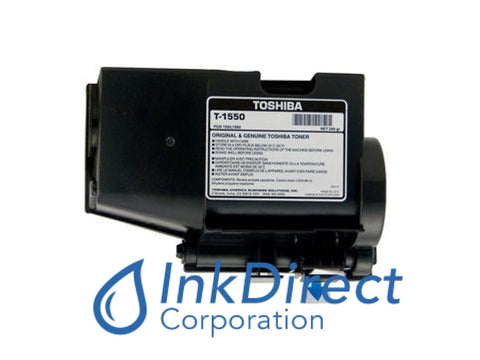 Genuine Toshiba T1550 - L T-1550 - L Toner Cartridge Black , Toshiba - All-in-One BD 1560, - Copier BD 1550
