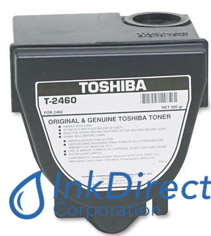 Genuine Toshiba T2460 - L T-2460 - L Toner Cartridge Black  DP 2460 2570