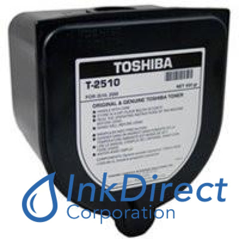 Genuine Toshiba T2510 - L T-2510 - L Toner Cartridge Black  BD 2510 2550
