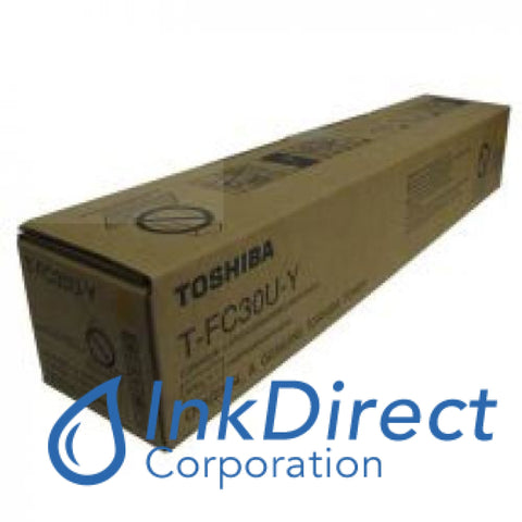 Genuine Toshiba TFC30UY T-FC30U-Y   Toner Cartridge Yellow e-Studio 2050C 2051C 2550C 2551C