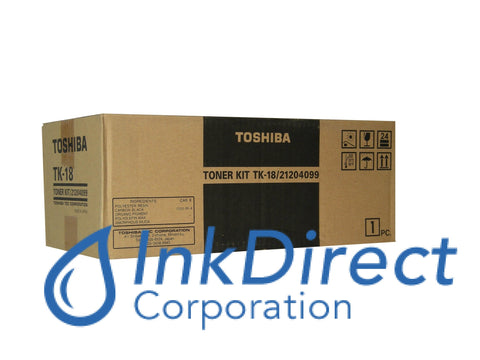 Genuine Toshiba TK18 TK-18 Toner Cartridge Black   DP 85 - All-in-One DP  80 - Fax Laser DP  80F  85F
