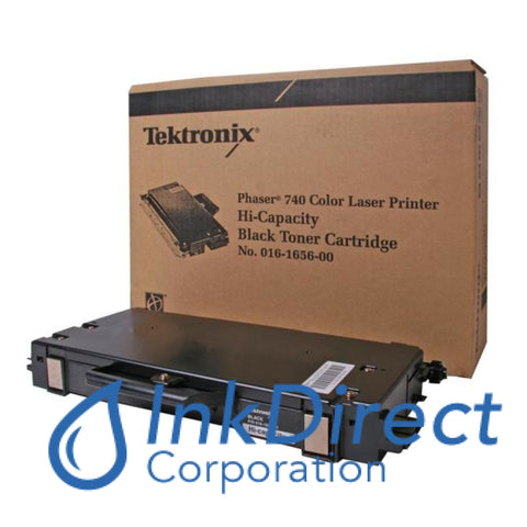 Genuine Xerox 016-1656-00 016165600 Phaser 740 Toner Cartridge Black Toner Cartridge