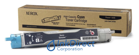 Genuine Xerox 106R1144 106R01144 Phaser 6350 High Yield Toner Cyan Toner