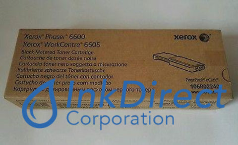 Genuine Xerox 106R2240 106R02240 metered Toner Cartridge Black – Ink