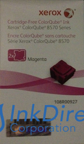 Genuine Xerox 108R927 108R00927 Colorqube 8570 Ink Stick Magenta