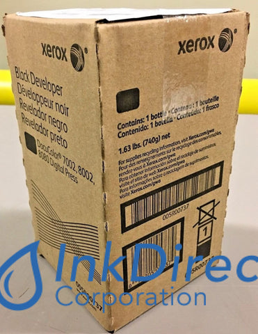 Genuine Xerox 5R737 005R00737 = 5R629 Developer Black