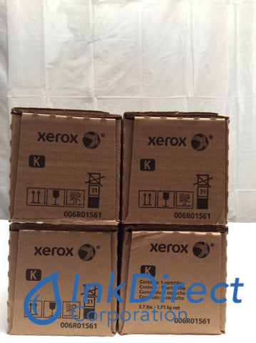 Genuine Xerox 6R1561 6R01561 006R01561 Toner Cartridge Black ( lot of 4 ) Toner Cartridge