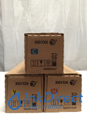 Xerox 6R1627 6R1628 6R1629 Toner Cartridge Cyan Magenta Yellow Versant 2100 Press Toner Cartridge , Xerox   - Printer  Versant 2100 Press