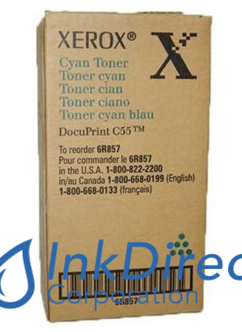 Genuine Xerox 6R857 6R00857 006R00857 Toner Cartridge Cyan