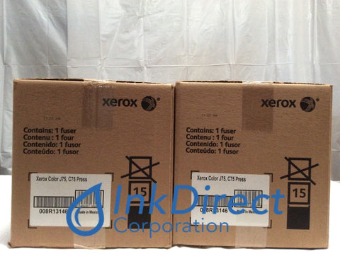 Xerox 8R13146 008R13146 220V Fuser Kit Black ( Lot of 2 ) Color C75 J75 Press Fuser Kit , Xerox Tektronix - Copier Digital Color C75, J75 Press,
