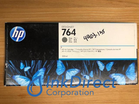 HP C1Q18A 764 Ink Jet Cartridge Gray DesignJet T3500 36-in Ink Jet Cartridge , HP - Laser Printer DesignJet T3500 36-in Production eMFP, T3500 Production eMFP