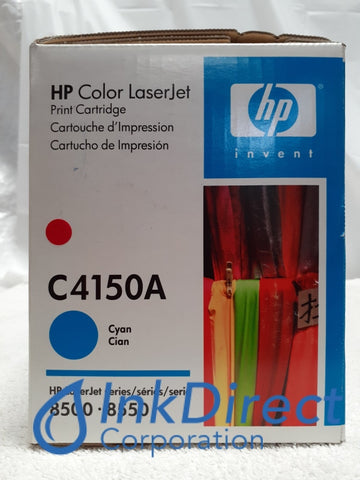 HP C4150A HP 8500 Toner Cartridge Cyan ( Blue Box ) LaserJet 8500 8500DN 8500N 8550 8550DN 8550N Toner Cartridge