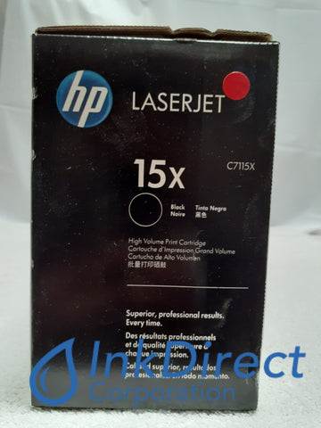 HP C7115X 15X High Yield Toner Cartridge Black LaserJet 1000 1005 1200 1200N 1220 3300 3310 3320 3330 3380 Toner Cartridge