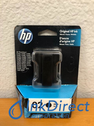 HP C8721WN ( HP 02 ) Ink Jet Cartridge Black Ink Jet Cartridge , HP - Photo Printer PhotoSmart 3210, 3310, 8250, C5180, C6180, C6280, C7180, C7280, C8180, D7160, D7260,