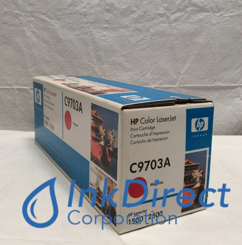 HP C9703A 2500 Toner Cartridge Magenta ( Blue Box ) LaserJet 1500 2500 Toner Cartridge , HP - Laser Printer Color LaserJet 1500, 2500,