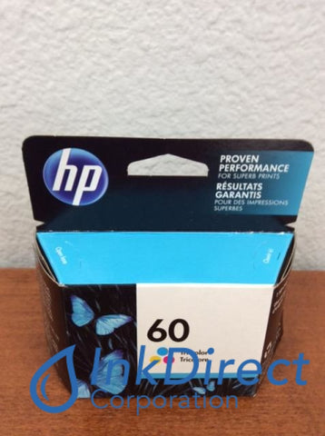 HP CC643WN HP 60 Color Ink Jet Cartridge Tri-Color Ink Jet Cartridge , HP - All-in-One PhotoSmart C4680, - InkJet Printer DeskJet D2500, F4200, F4230, F4235, F4240, F4250, F4272, F4273, F4274, F4275, F4288, F4292, F4293, - Laser Printer DeskJet D2530, D2560, F4280,