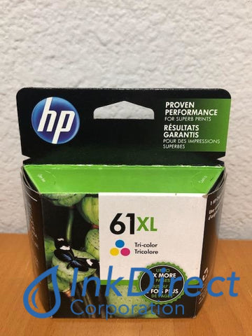 HP CH564WN ( HP 61XL ) Ink Jet Cartridge Tri-Color Designjet 1000 1050 1056 3050 3054 Ink Jet Cartridge , HP   - InkJet Printer  DeskJet 1000,  1010,  1050,  1055,  1056,  1510,  2050,  2540,  2549,  3000,  3050,  3050A,  3054,  3054A,  3056A,  3510,  ENVY  4500,  5530E,  5535,  OfficeJet  2620,  4630,