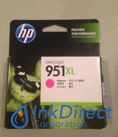 HP CN047AN HP 951XL High Yield Ink Jet Cartridge Magenta Ink Jet Cartridge , HP - All-in-One OfficeJet Pro 8600, - InkJet Printer OfficeJet Pro 8100