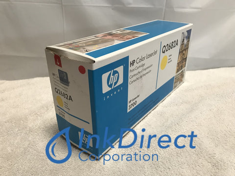 HP Q2682A ( HP 311A ) HP 3700 Toner Cartridge Yellow ( Blue Box ) Laser Printer Color LaserJet 3700, 3700DN, 3700DTN, 3700N, 3750,