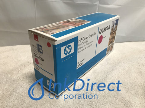 HP Q2683A HP 311A HP 3700 Toner Cartridge Magenta ( Blue Box ) Laser Printer Color LaserJet 3700, 3700DN, 3700DTN, 3700N, 3750,