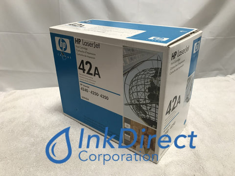 HP Q5942A HP 42A Print Cartridge Black ( Blue Box ) Laser Printer LaserJet 4240, 4250, 4250DTN, 4250DTNSL, 4250N, 4250TN, 4350DTN, 4350DTNSL, 4350N, 4350TN,