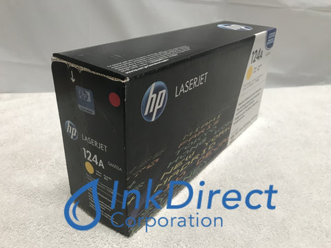 HP Q6002A ( HP 124A ) HP 2600 Toner Cartridge Yellow Laser Printer Color LaserJet 1600, 2600, 2600N, 2605, 2605DN, 2605DTN, CM1015, CM1015MFP, CM1017MFP,