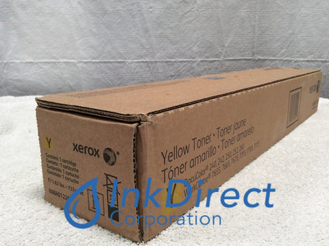 Xerox 6R1220 6R01220 006R01220 Doc 240 Toner Cartridge Yellow Toner Cartridge