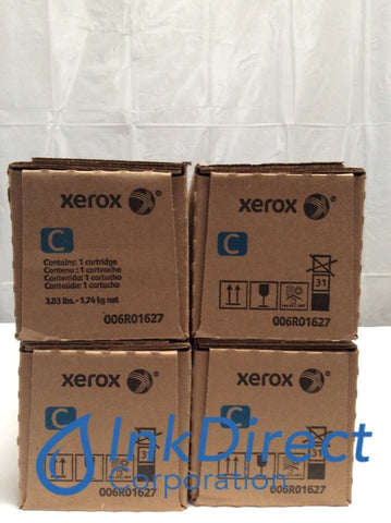 Xerox 6R1627 006R01627 6R01627 Toner Cartridge Cyan ( Lot of 4 ) Versant 2100 Press Toner Cartridge , Xerox   - Printer  Versant 2100 Press,