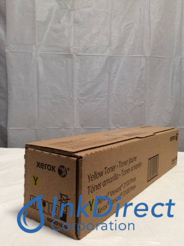 Xerox 6R1629 006R01629 6R01629 Versant 2100 Toner Cartridge Yellow Toner Cartridge , Xerox   - Printer  Versant 2100 Press,