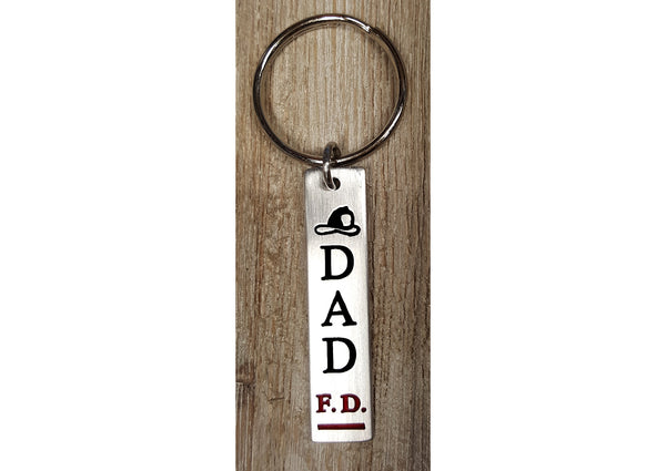 Dad Firefighter Key-Chain