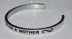 I Love Being A Mother  |  Engraved Handmade Bracelet by: Say It and Wear It Jewelry - #love