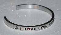 You Personalize It Your Way |  Engraved Handmade Bracelet By Say It and Wear It Jewelry - #love