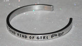 I'm A Toe In The Sand Kind Of Girl   |  Engraved Handmade Bracelet by: Say It and Wear It Jewelry - #love
