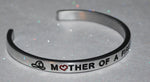Mother Of A Firefighter  |  Engraved Handmade Bracelet by: Say It and Wear It Jewelry - #love