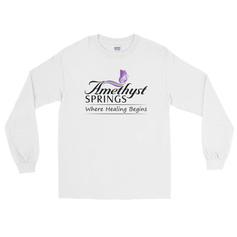 Official Amethyst Springs-Massage-Massage Therapy-Massage Therapist-Long Sleeve T-Shirt