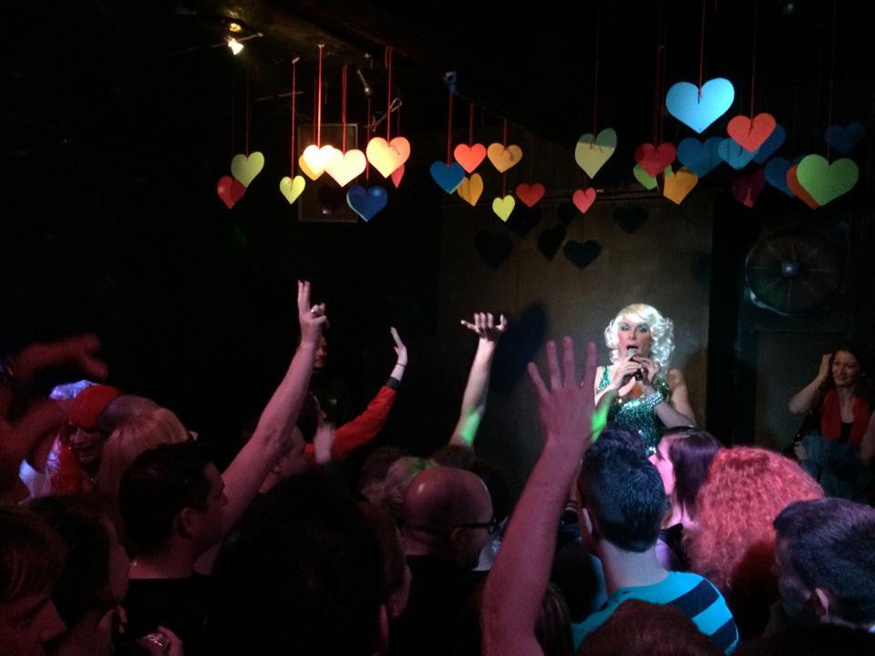Mataina from Germany performed in Tiffany Gay Club