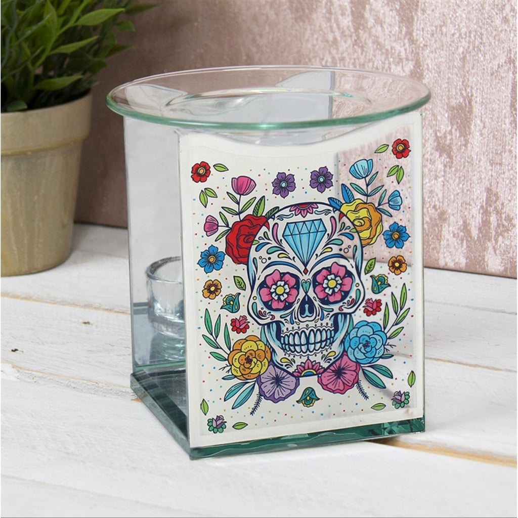 Wax Warmer Day of the Dead Sugar Skulls