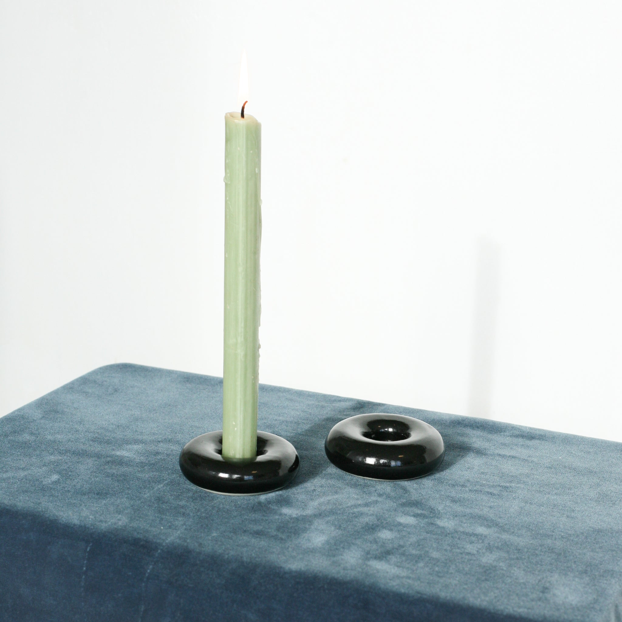 Pillow Candlestick Holder