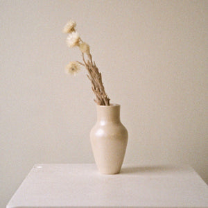Pearly Bud Vase