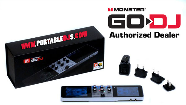 Introducing Monster GO-DJ