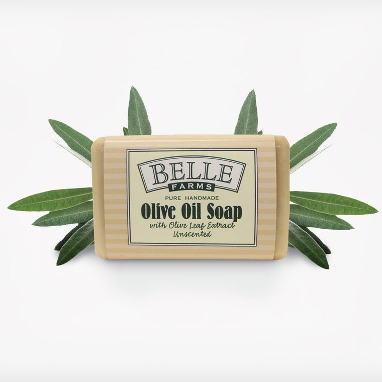 Olive Leaf Extract Olive Oil Soap, Unscented