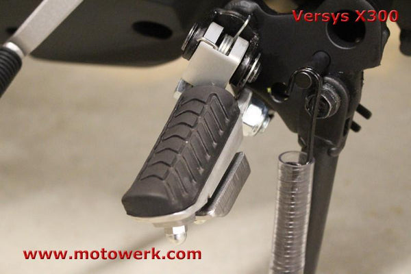 Lowering Foot Peg Blocks for Kawasaki