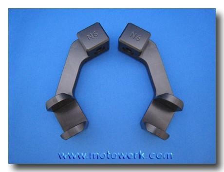 Rear Lowering Foot Peg Blocks KN65R