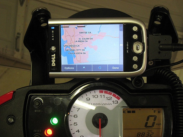 Universal GPS Mount Versys 650 2007 to 2009 Models